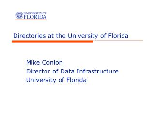 Directories at the University of Florida