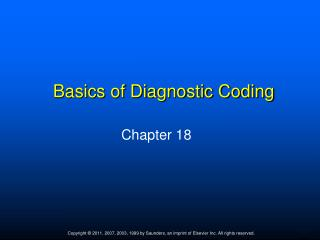 Basics of Diagnostic Coding