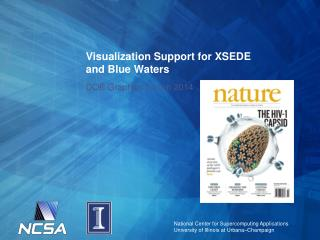 Visualization Support for XSEDE and Blue Waters