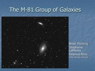 The M-81 Group of Galaxies