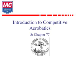 Introduction to Competitive Aerobatics