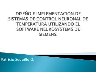 Patricio Suquillo Q.