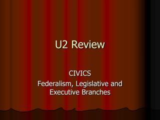 U2 Review