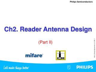 Ch2. Reader Antenna Design