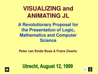 VISUALIZING and ANIMATING JL