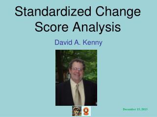 Standardized Change Score Analysis