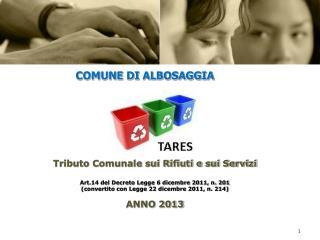 COMUNE DI ALBOSAGGIA