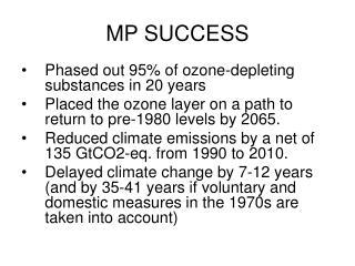 MP SUCCESS