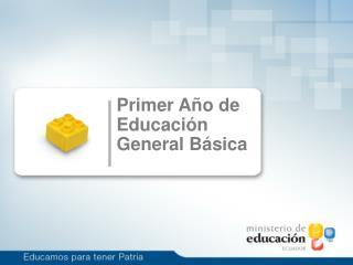 Primer Año de Educación General Básica
