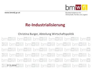 Re-Industrialisierung