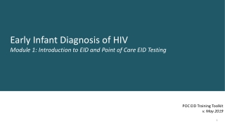 Session 11: Nutrition Care of Children 2 9 Years Old Living with HIV