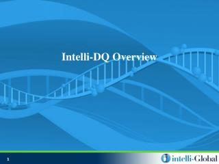 Intelli-DQ Overview
