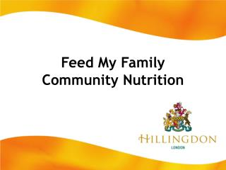 Feed My Family Community Nutrition