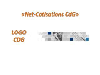 �Net-Cotisations  CdG �