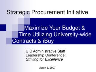 Maximize Your Budget &