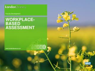 WORKPLACE- BASED ASSESSMENT