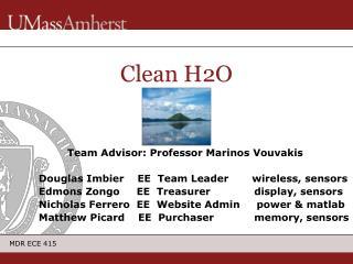 Clean H2O