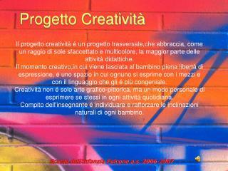 Progetto Creatività