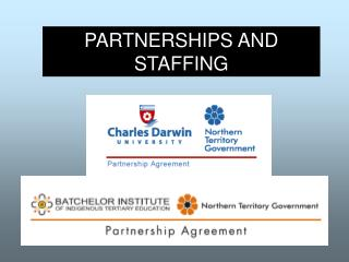 PARTNERSHIPS AND STAFFING