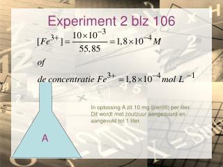 Experiment 2 blz 106