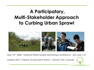 A Participatory,  Multi-Stakeholder Approach  to Curbing Urban Sprawl