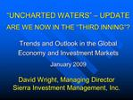 David Wright, Managing Director Sierra Investment Management, Inc.