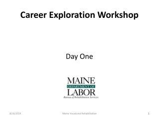 Career Exploration Workshop