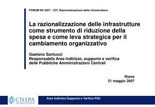 Roma 21 maggio 2007