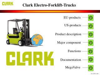 Clark Electro-Forklift-Trucks