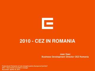 2010 - CEZ IN ROMANIA