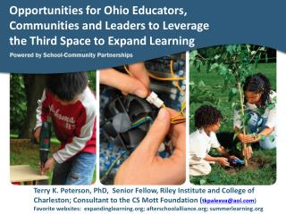 New and Continuing Challenges Facing Ohio