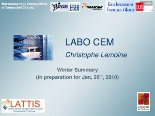 LABO CEM Christophe Lemoine
