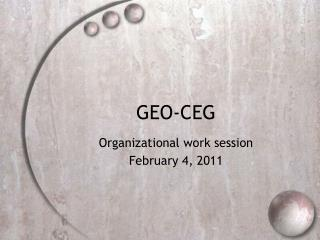 GEO-CEG