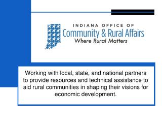 Community Development Block  Grant Program (CDBG)
