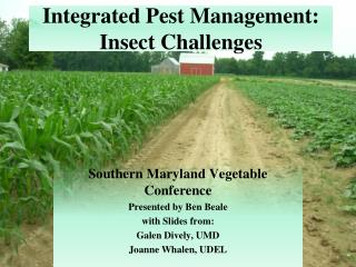 Integrated Pest Management: Insect Challenges