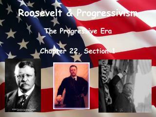Ro os evelt & Progressivism