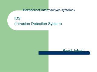 Bezpečnosť informačných systémov