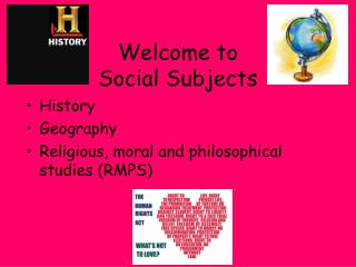 Welcome to  Social Subjects