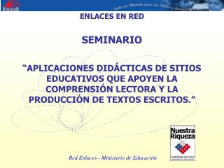 ENLACES EN RED SEMINARIO