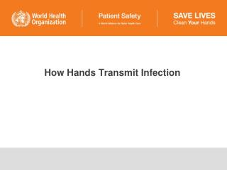 How Hands Transmit Infection