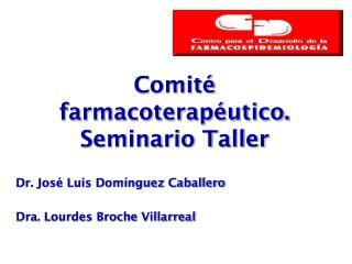 Comité  farmacoterapéutico. Seminario Taller