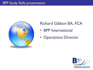 BPP Study Skills presentation