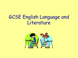 GCSE English Language and Literature
