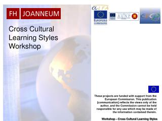 Cross Cultural Learning Styles Workshop