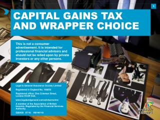 CAPITAL GAINS TAX AND WRAPPER CHOICE