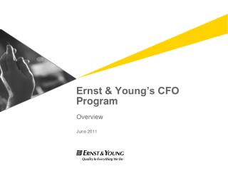Ernst & Young�s CFO Program