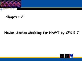 Navier-Stokes Modeling for HAWT by CFX 5.7