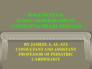 ROLE OF FETAL ECHOCARDIOGRAPHY IN CONGENITAL HEART DISEASES