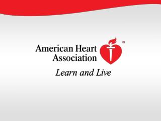 Heart Disease and Stroke Statistics  —  2010 Update