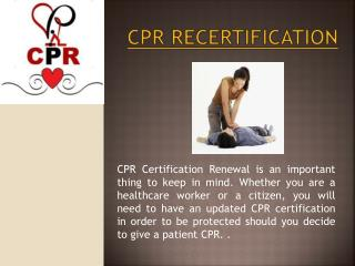 Infant CPR Classes